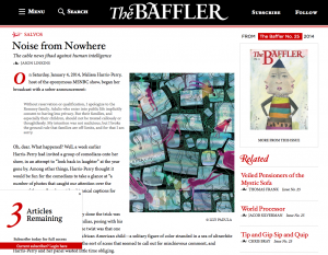 The Baffler using zeen101's IssueM and Leaky Paywall Plugins